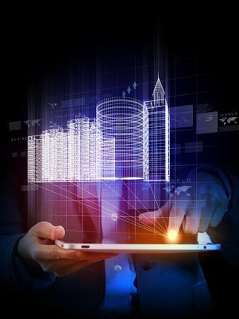 Engineering Automation Building Designing,  Construction Industry Technology