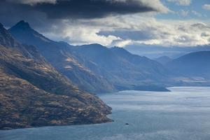 Lake Wakatipu from Kelvin Heights Near Queenstown, New Zealand's South Island by Sergio Ballivian