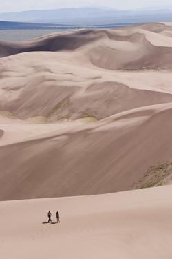 The Great Sand Dunes National Park Near Alamosa, Colorado by Sergio Ballivian