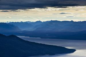 The Sunrise Above Lake Teanau in Fiordland National Park in New Zealand's South Island by Sergio Ballivian