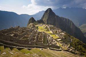View of Machu Picchu Located in the Vilcanota Mountain Range in South-Central Peru by Sergio Ballivian