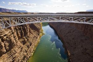 View of the Colorado River from the Navajo Bridge by Sergio Ballivian