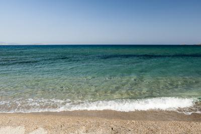 A Scenic View of the Aegean Sea from Soros Beach, on Antiparos Island by Sergio Pitamitz