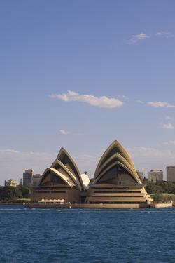 A View of the Sydney Opera House from across the Harbor by Sergio Pitamitz