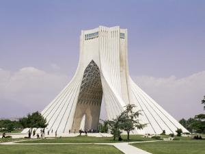Azadi Tower, Teheran, Iran, Middle East by Sergio Pitamitz