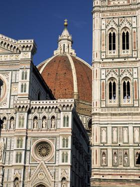 Christian Cathedral, the Duomo and Bell Tower (Campanile), Florence, Tuscany, Italy by Sergio Pitamitz