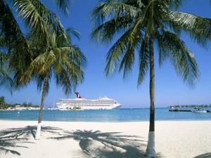 Cruise Ship, Ocho Rios, Jamaica, West Indies, Central America by Sergio Pitamitz