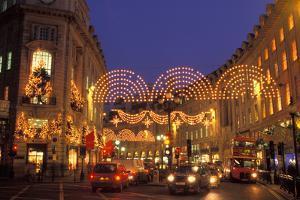 England, London, Regent street at Christmas. by Sergio Pitamitz