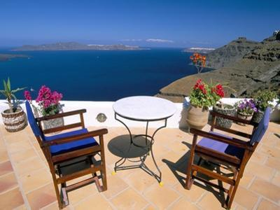 Fira, Island of Santorini (Thira), Cyclades Islands, Aegean, Greek Islands, Greece, Europe