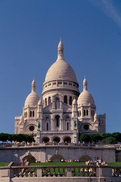 France. Paris. Sacré-Coeur. by Sergio Pitamitz