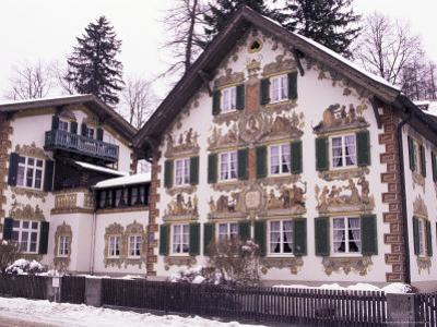 Hansel and Gretel House, Oberammergau, Bavaria, Germany by Sergio Pitamitz