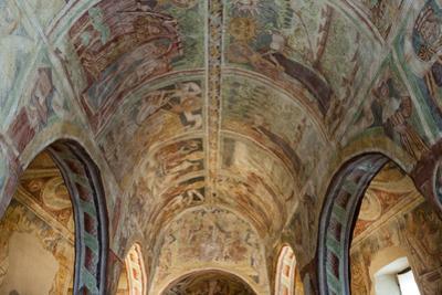 Holy Trinity Church, an historical building in Hrastovlje, Slovenia, Europe by Sergio Pitamitz