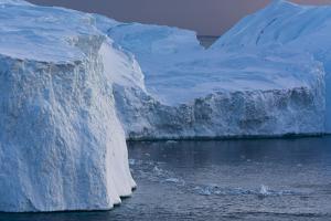 Icebergs in Ilulissat Icefjord, Greenland, Denmark, Polar Regions by Sergio Pitamitz