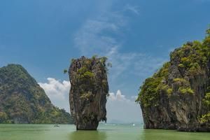 James Bond Island, featured in the movie The Man with the Golden Gun, Phang Nga, Thailand by Sergio Pitamitz