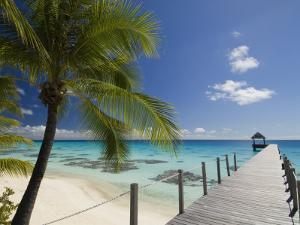 Le Maitai Dream Hotel, Fakarawa, Tuamotu Archipelago, French Polynesia, Pacific Islands, Pacific by Sergio Pitamitz