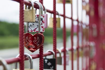 Locks of love, Maribor, Slovenia, Europe by Sergio Pitamitz