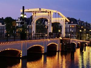 Magere Brug (Skinny Bridge), Amsterdam, the Netherlands (Holland) by Sergio Pitamitz