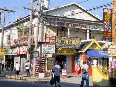 Main Street, Ocho Rios, Jamaica, West Indies, Central America by Sergio Pitamitz