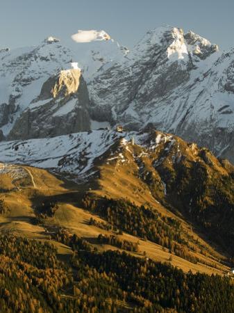Marmolada Group, Dolomites, Bolzano Province, Trentino-Alto Adige, Italy, Europe by Sergio Pitamitz