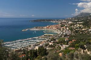 Menton and Cap Martin, Provence-Alpes-Cote D'Azur, French Riviera, France, Mediterranean, Europe by Sergio Pitamitz