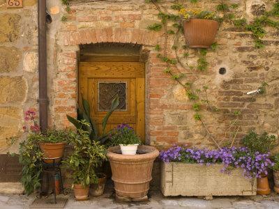 Montefollonico, Val D'Orcia, Siena Province, Tuscany, Italy