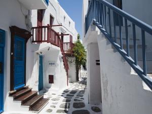 Mykonos Town, Chora, Mykonos, Cyclades, Greek Islands, Greece, Europe by Sergio Pitamitz