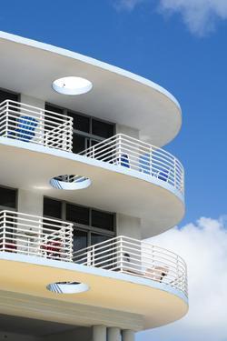 Ocean Drive, South Beach, Miami Beach, Florida, United States of America, North America by Sergio Pitamitz