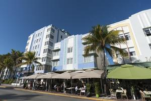 Ocean Drive, South Beach, Miami Beach, Florida, United States of America, North America by Sergio Pitamitz
