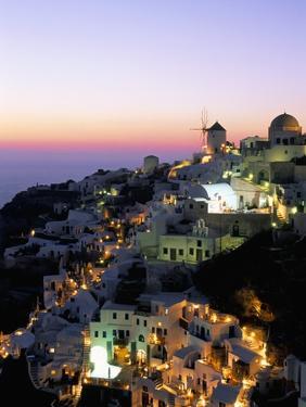 Oia (Ia), Island of Santorini (Thira), Cyclades Islands,Aegean, Greek Islands, Greece, Europe by Sergio Pitamitz