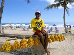 Ponta Negra Beach, Natal, Rio Grande Do Norte State, Brazil, South America by Sergio Pitamitz
