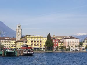 Riva Del Garda, Lago Di Garda (Lake Garda), Trentino-Alto Adige, Italian Lakes, Italy, Europe by Sergio Pitamitz