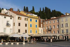 Tartini Square, Piran, Slovenia, Europe by Sergio Pitamitz