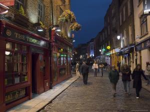 Temple Bar, Dublin, County Dublin, Republic of Ireland (Eire) by Sergio Pitamitz