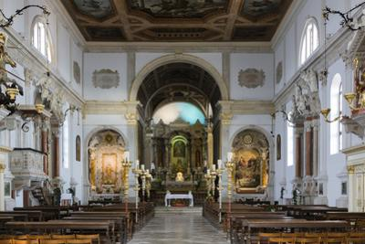 The Church of Saint George, Piran, Slovenia, Europe by Sergio Pitamitz