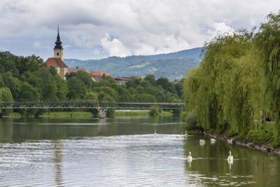 The Drava River, Maribor, Slovenia, Europe by Sergio Pitamitz