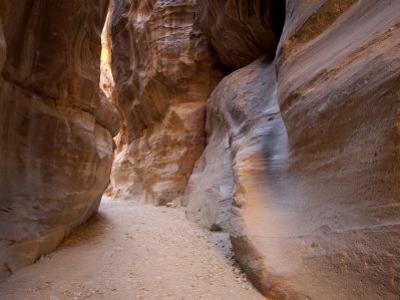 The Siq, Petra, Unesco World Heritage Site, Jordan, Middle East