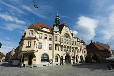 The Town Hall, Ptuj, Slovenia, Europe by Sergio Pitamitz