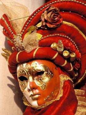 Traditional Costumes, Carnival, Venice, Italy by Sergio Pitamitz
