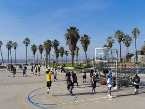 Venice Beach, Los Angeles, California, United States of America, North America by Sergio Pitamitz