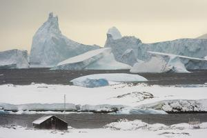 Vernadsky Research Base, the Ukrainian Antarctic station at Marina Point on Galindez Island in the  by Sergio Pitamitz