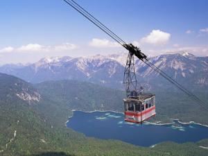View from Zugspitze, Bavaria, Germany by Sergio Pitamitz