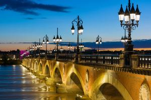 Summer Night in Bordeaux by SergiyN