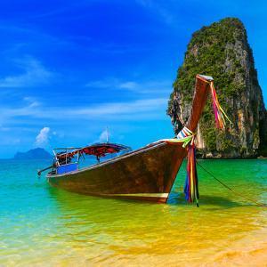 Summer Beach Tropical Landscape by SergWSQ