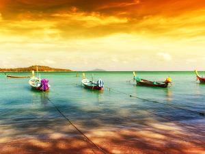 Thailand Tropical Beach Exotic Landscape by SergWSQ