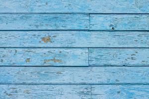 Texture of Blue Hipster Color Wood Panel. Old Shabby Painted Weathered Plank by serkus