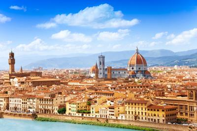 Cityscape of Florence by SerrNovik