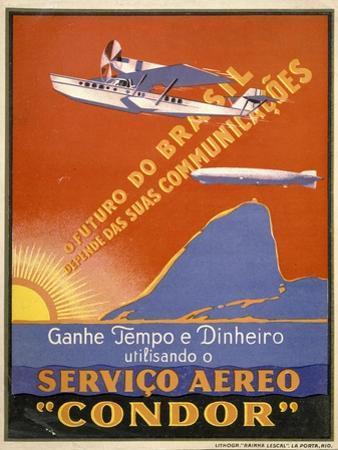 """Servico Aereo """"Condor"""""""