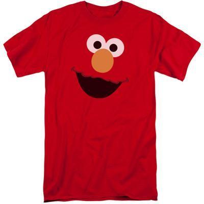 Sesame Street- Big Elmo Face (Big & Tall)