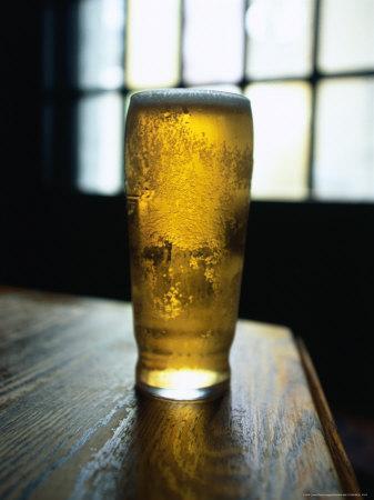 Pint in Windsor Castle Pub, Camden Hill Road, London, United Kingdom