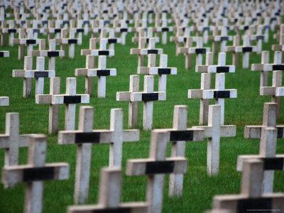 War Cemetery, Verdun, France